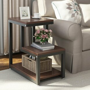 Angelique 3-Tier End Table by 17 Stories
