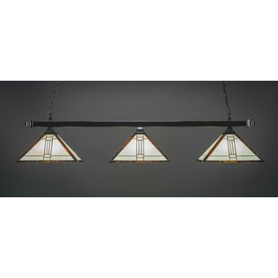 Red Barrel Studio Bellavia 3-Light Billiard Pendant