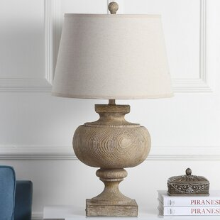 Aron Wooden 31 Table Lamp