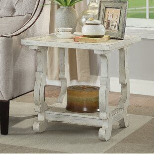 Inexpensive Nash End Table by Rosecliff Heights