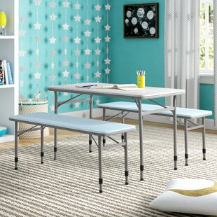 Fantastic Epping Adjustable Height Kids 3 Piece Rectangular Table And Chair Set Creativecarmelina Interior Chair Design Creativecarmelinacom