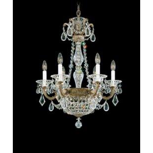Schonbek La Scala Empire 6-Light Chandelier