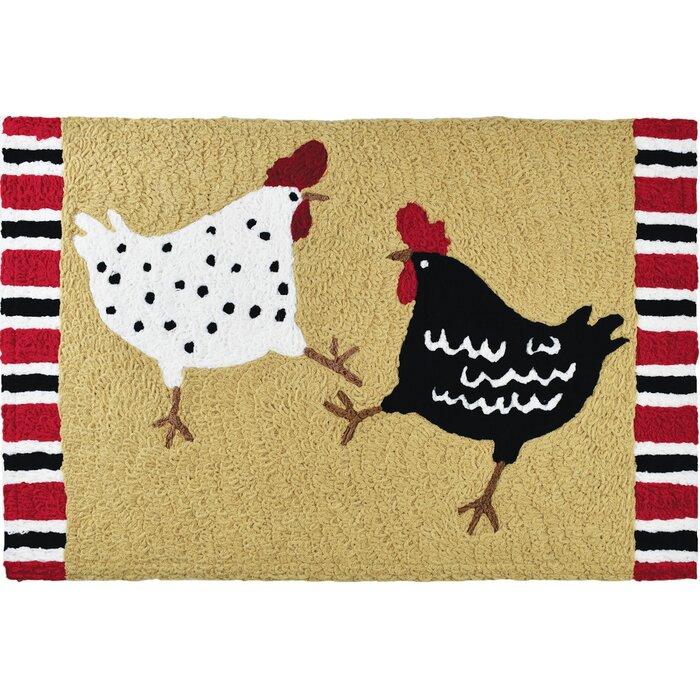 Chicken Dance Kitchen Mat