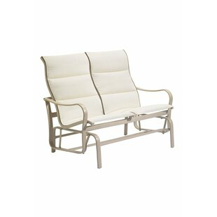 Shoreline Padded Sling Double Glider Bench
