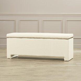 Alcott Hill Cloville Upholstered Storage Bench