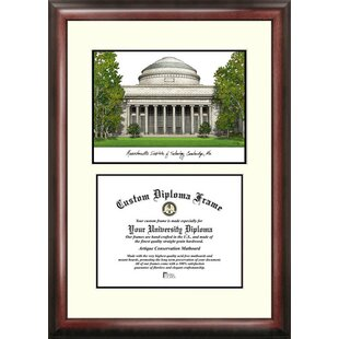 NCAA MIT Scholar Lithograph Diploma Frame By Campus Images