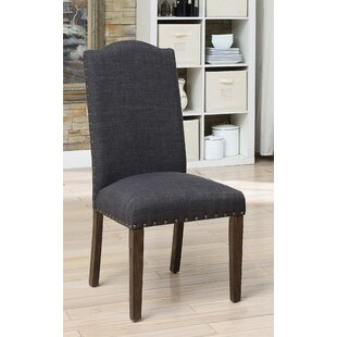 Gracie Oaks Auttenberg Upholstered Dining Chair (Set of 2)