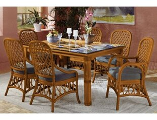 Antigua Rectangular Dining Table South Sea Rattan