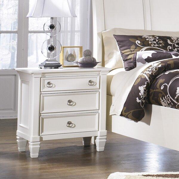 signature designashley prentice nightstand & reviews   wayfair Nightstand Design