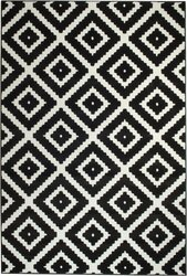 Cheney Black Indoor Area Rug