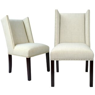 Nata Upholstered Dining Chair (Set of 2) by Darby Home Co