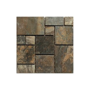 Modular Random Sized Engineered Stone Mosaic Tile in Natural Stone