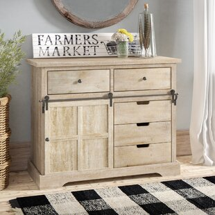 Gracie Oaks Chesterton 5 Drawer Accent Cabinet