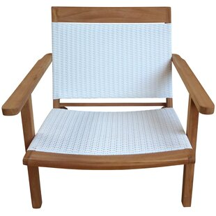 Highland Dunes Siri Teak Club Chair