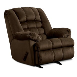 Cabela Manual Rocker Recliner by Simmons Upholstery by Red Barrel Studio