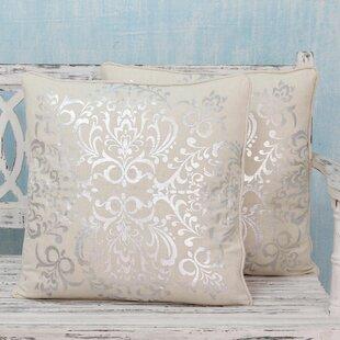 Celebration Cotton Pillow Cover (Set of 2)