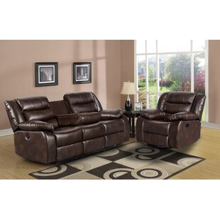 Trista Reclining 2 Piece Living Room Set ..