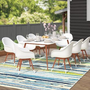 Mercury Row Colyer 9 Piece Rectangular Dining Set