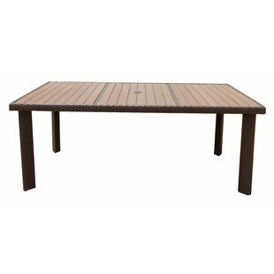 Ebern Designs Ollis Dining Table with Cover
