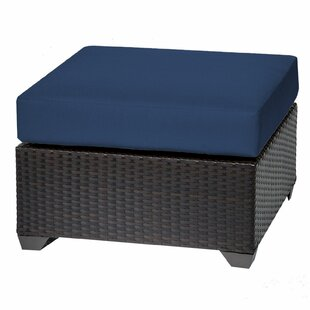 TK Classics Barbados Ottoman with Cushion