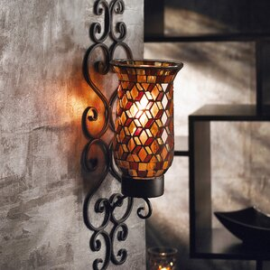 Metal Wall Sconces metal candle sconces you'll love | wayfair