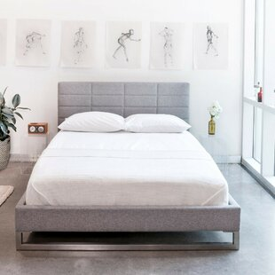 Switch Upholstered Platform Bed by Gus* Modern