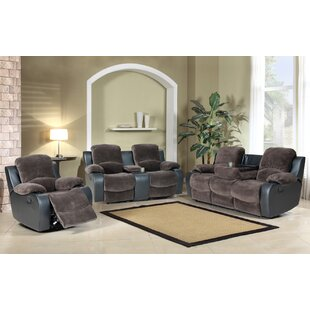 Bargain Wrenly 3 Piece Reclining Living Room Set by Red Barrel Studio Reviews (2019) & Buyer's Guide