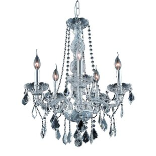Astoria Grand Petties 5-Light Candle Style Chandelier