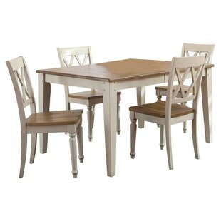 Cher 5 Piece Extendable Dining Set Rosalind Wheeler