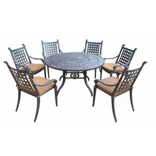 Arness 10 Piece Dining Set and Lounge Set