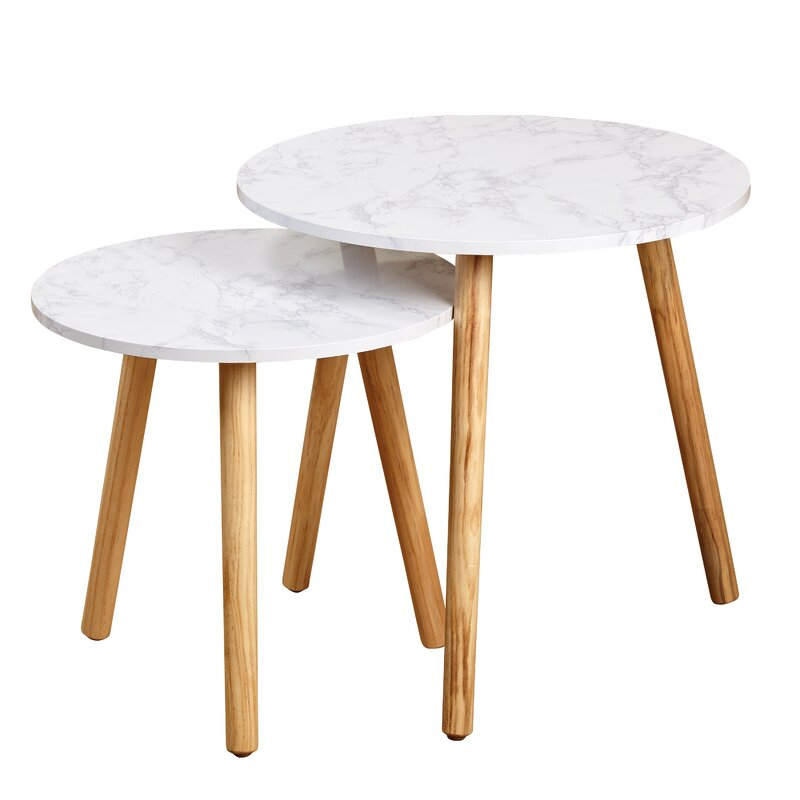 nesting tables. Chantay 2 Piece Nesting Tables