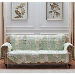 Juniper Sofa Slipcover by August Grove Savings