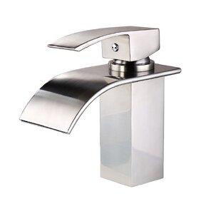 Sumerain Deck Mount Waterfall Bathroom Sink Faucet With Hoses Wayfair