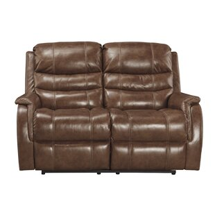 Barstow Reclining Loveseat Loon Peak Great price