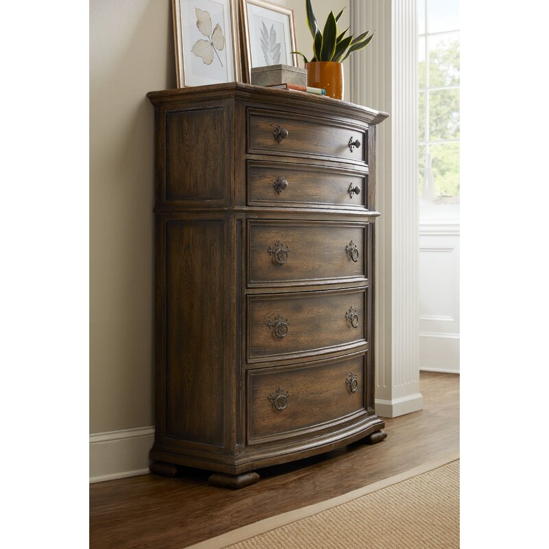 Hill Country Gillespie 5 Drawer Chest