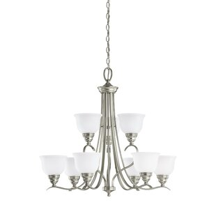 Busti 9-Light Shaded Chandelier by Darby Home Co