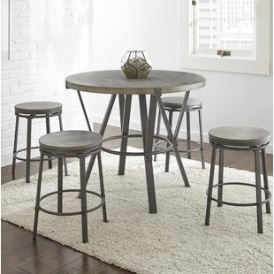 Leka 5 Piece Pub Table Set Gracie Oaks