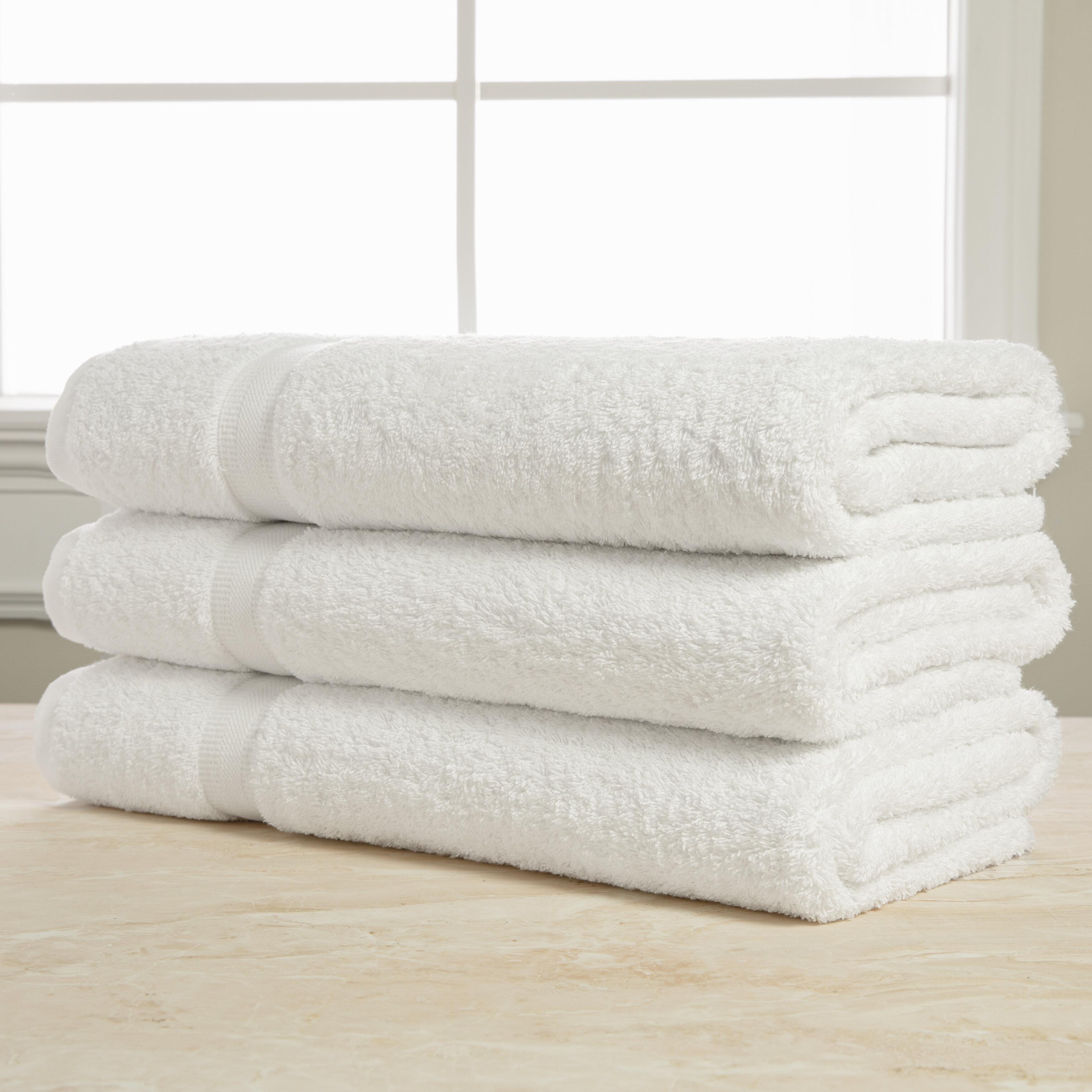 Sobel Westex Royal Excellence 3 Piece 100 Cotton Bath Sheet Towel Set Reviews Wayfair