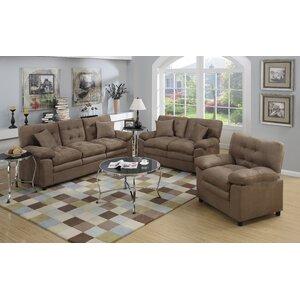 Halifax 3 Piece Living Room Set