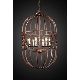 Thoreau 6-Light Lantern Pendant by Blooms..