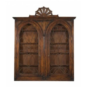 Beazley Wall Mounted Curio Cabinet by Ast..