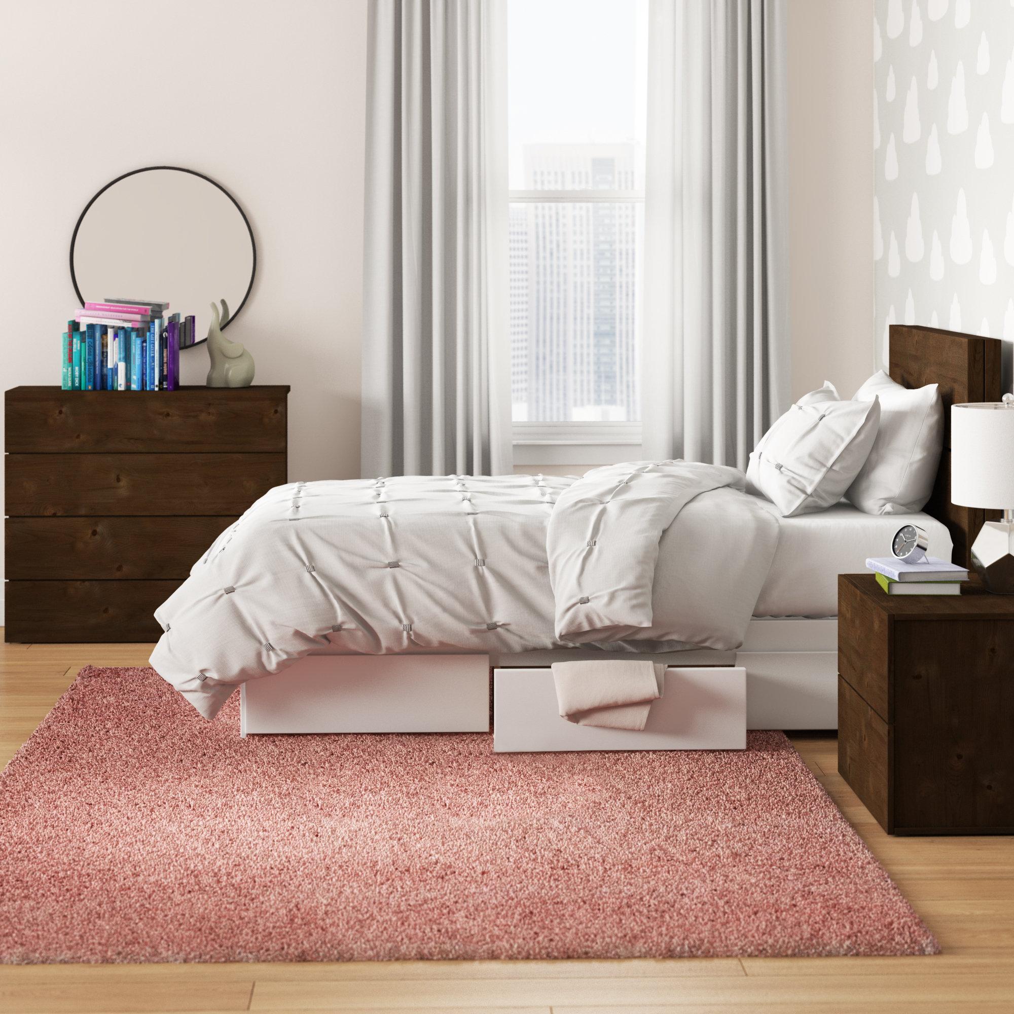 Mack Milo Totten Twin Platform 3 Piece Bedroom Set Wayfair Ca