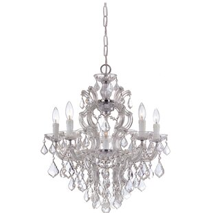 House of Hampton Griffiths 5-Light Candle Style Chandelier