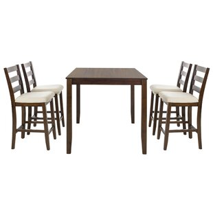 Donegal 5 Piece Dining Set by Alcott Hill