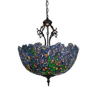 Meyda Tiffany 3-Light Bowl Pendant