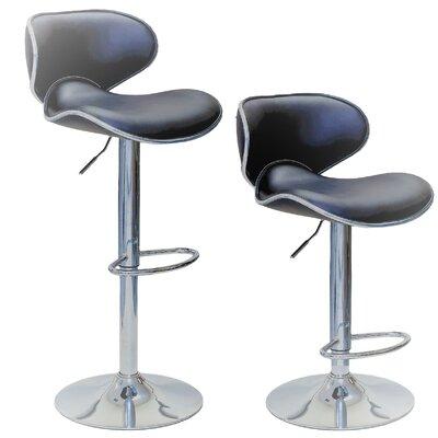 Marvelous Shults Adjustable Height Swivel Bar Stool Brayden Studio Cjindustries Chair Design For Home Cjindustriesco