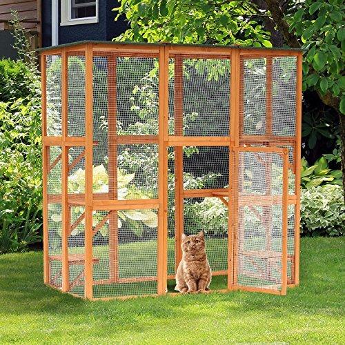 Encanto Outdoor Enclosure Cat Cage