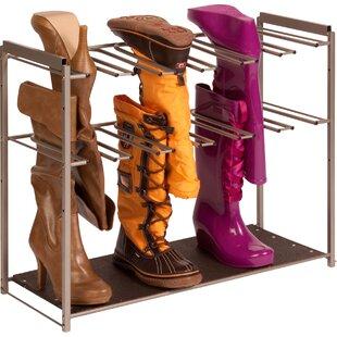 6 Pair Boot Rack
