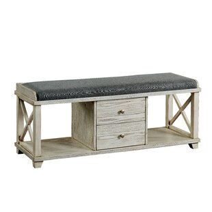 Reedsburg Wood Storage Bench