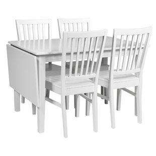 Dining Set With 4 Chairs By August Grove